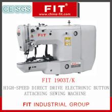 High-Speed-Direktantrieb elektronischen Knopf anbringen Nähmaschine