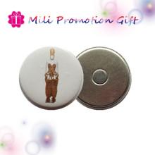 Custom Round Badge Print Fridge Magnet