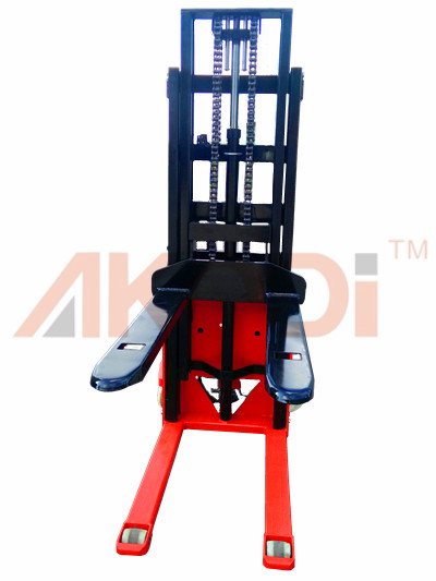Semi-electric Stacker for Sale