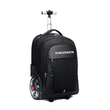 High Quality Business  Luggage Two Big Wheels Trolley  Backpack Climbing Stairs