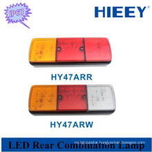 IP67 waterproof rated led tail lamp Universal LED indicator stop combined tail lamp tail light for bus trailers