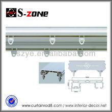 SDC03 doble techo de plástico montado en el techo cortina de PVC cortina de pista