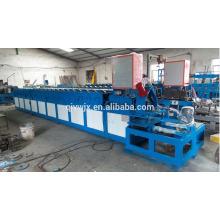 rollo galvanizado del marco de la puerta de la placa que forma la máquina hecha en China