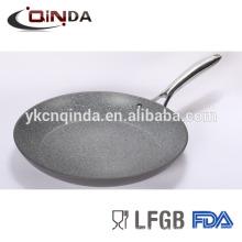 Mable enduit ustensiles de cuisine en aluminium anodisé dur