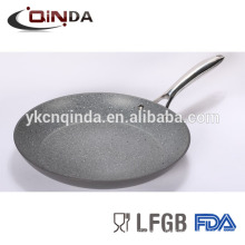 Mable coating hard anodized aluminum cookware