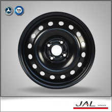 "Black wheels steel rim of 15"" with factor price"