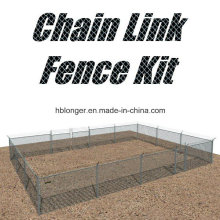 PVC Coated Galvanized Chain Link Wire Mesh Fence/Diamond Wire Mesh