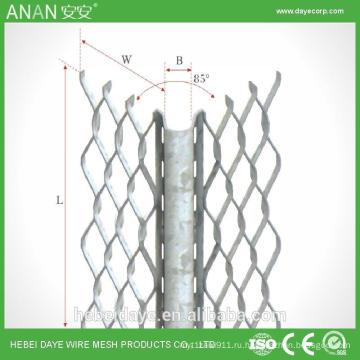 Серебро продвинутый строительный материал бетонная оцинкованная угловая сетка из бисера