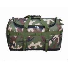 Sac polochon de voyage, sac de sport personnalisé de gym pour le sac week-end militaire duffle