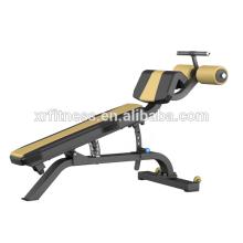 Banco ajustável comercial XP23 do declínio da máquina comercial do exercício do Gym