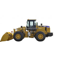 Wheel Loader With Pipe Gripper