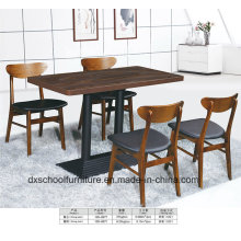 Northern Europe Soild Wood Dining Table and Chair