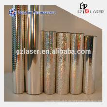 Hologramm Aluminium metallisierte Kunststoff-Verpackungsfolie