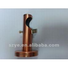 Accesorios de cortina AC hierro de cobre sola barra de cortina soporte y hardware