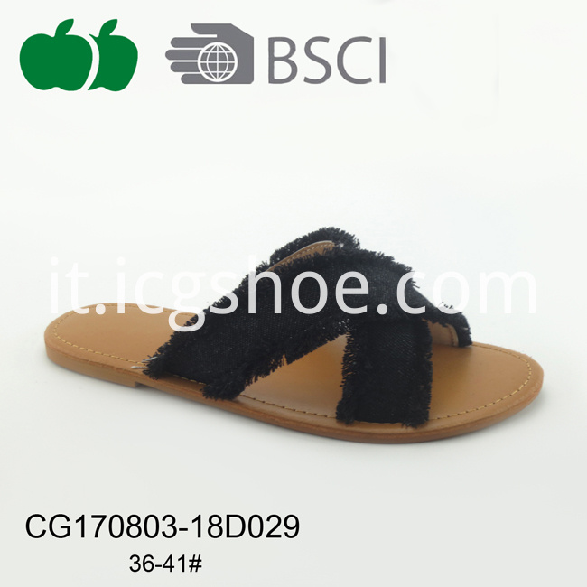 cheap pu slipper