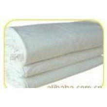 coton 100% 32 * 32 + 40D 130 * 80 72 pouces satin gris