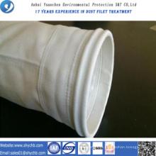 A fábrica fornece diretamente o saco de filtro da poeira da fibra de vidro para a indústria da metalurgia com amostra grátis