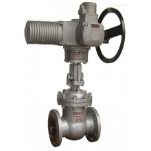 """high quality flange type ductile iron 2"""" electric gate valve"""
