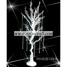 Good quality 100% for Dry Tree Branches White Color Artificial Wedding Tree with 150CM Height for Wedding Decoration export to Gambia Wholesale