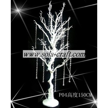 White Color Artificial Wedding Tree with 150CM Height for Wedding Decoration