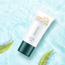 Natural Private Label Face Skin Care Whitening Sunblock Sun Screen Lotion Sunscreen Cream