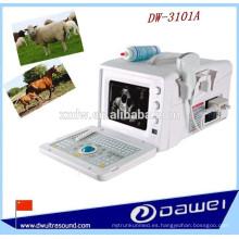 2d ultrasonido escáner de ultrasonido de vaca y precio de la máquina portátil
