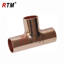 "1/4"" equal tee copper fittings"