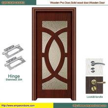 Porta interior porta painel de madeira porta de madeira porta de vidro