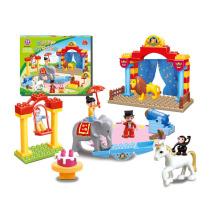 Ausbildung DIY Spielzeug Gebäude Ziegel für Kinder (H0033045)