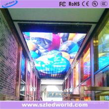Pantalla de LED P6 a todo color de interior en el techo