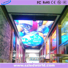 Écran d'affichage à LED polychrome d'intérieur de P6 sur le plafond