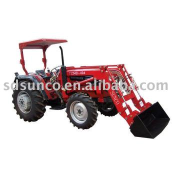 Chargeur portatif de tracteur agricole, chargeur de tracteur et rétrocaveuse, chargeur de rétrocaveuse