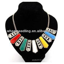 Fashion Gorgeous Collier Chunky Collor De Grande Taille JN26