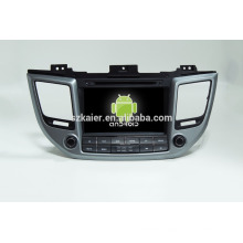 Factory directly !android 4.4 car dvd player for IX35 2015 +OEM+DVR+Dual core !