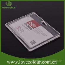 Высокое качество, но дешевый ясный жесткий держатель пластиковой карты