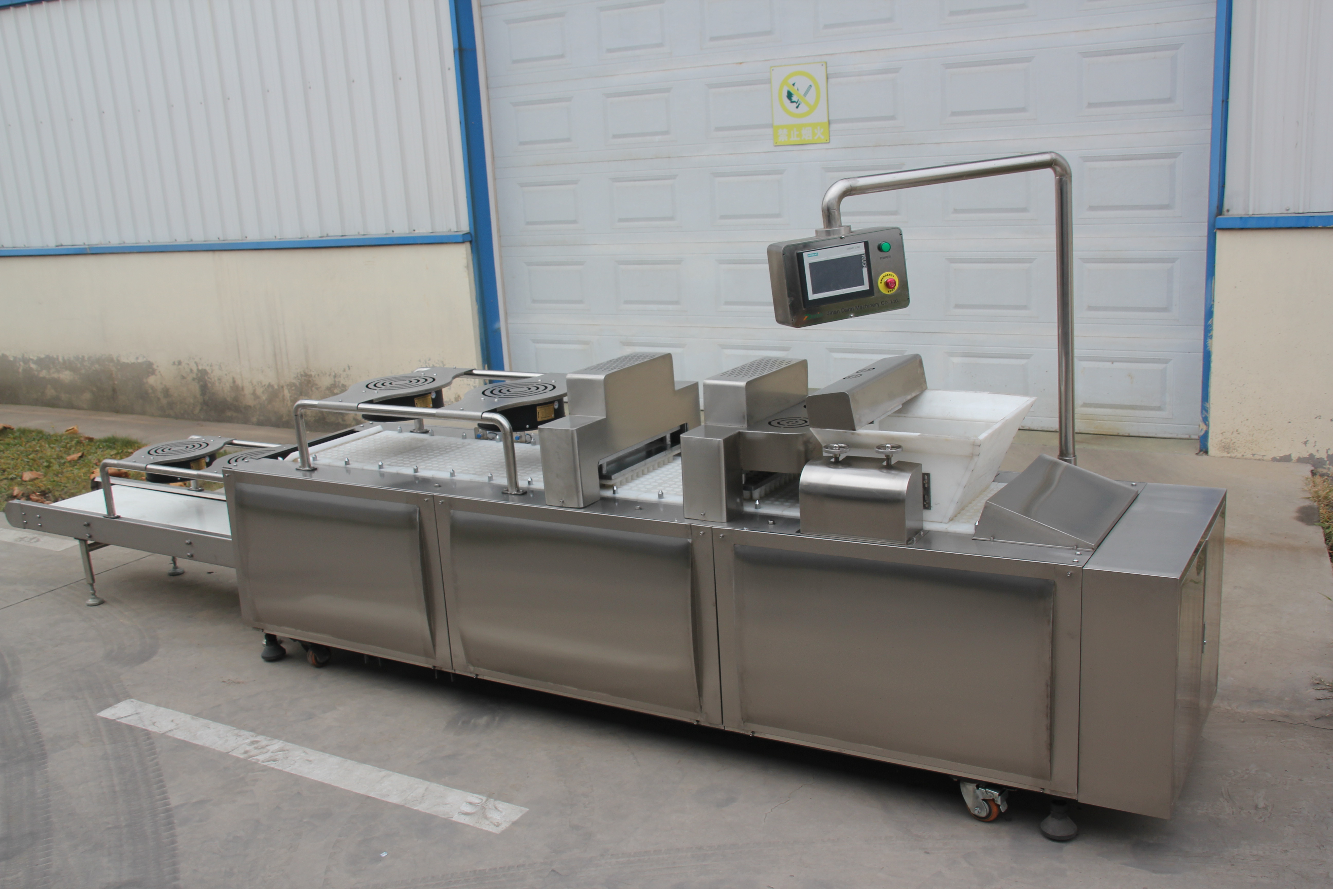 CEREAL BAR MOLDING MACHINE