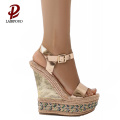 hot sale new style high heel wedges