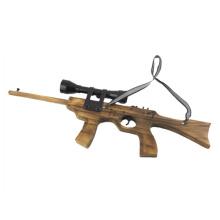 crianças réplicas de armas de brinquedo de madeira