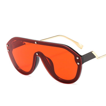 Western sunglasses Oversized High Quality  Hot Selling Big Frame Gradient Color Wholesale UV400 Sunglasses