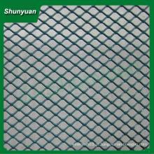 Fabricação produzida diamante alumínio esticado malha metálica 50x100mm para decoração / cortina de parede / casa-teto