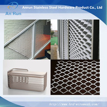 Maillage extérieur en métal expansé