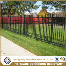 Decorative Wrought Iron Fence Design