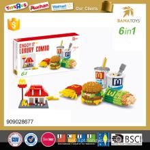 Mais novo produto jogos puzzle 1600PCS 3d puzzle diy brinquedo 6 em 1