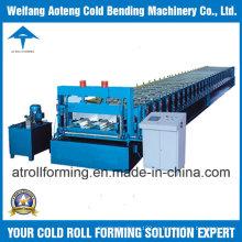 Máquina formadora de rollos de piso de acero