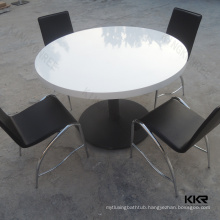 solid surface multifunction big size round entertainment office coffee tables