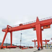 double beam cantilever gantry crane 50 ton