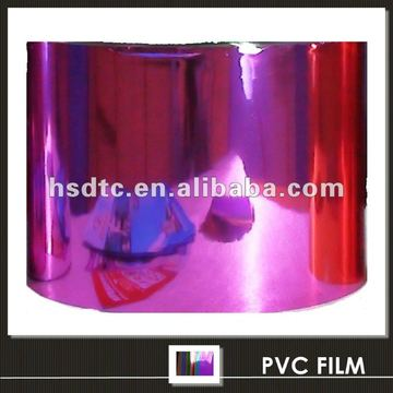 Metallized PVC Film