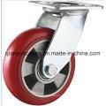 Fixed / Swivel PU on Cast Iron Heavy Duty Caster Wheel