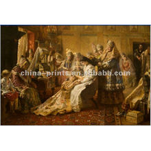 Classical Royal People Oil Painting