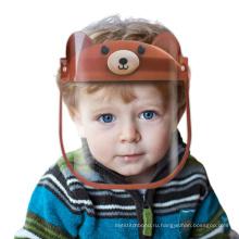 Регулируемая защитная защитная маска для лица с защитой от тумана